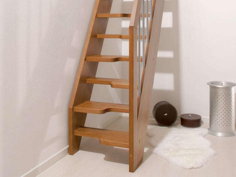 scala in legno mini