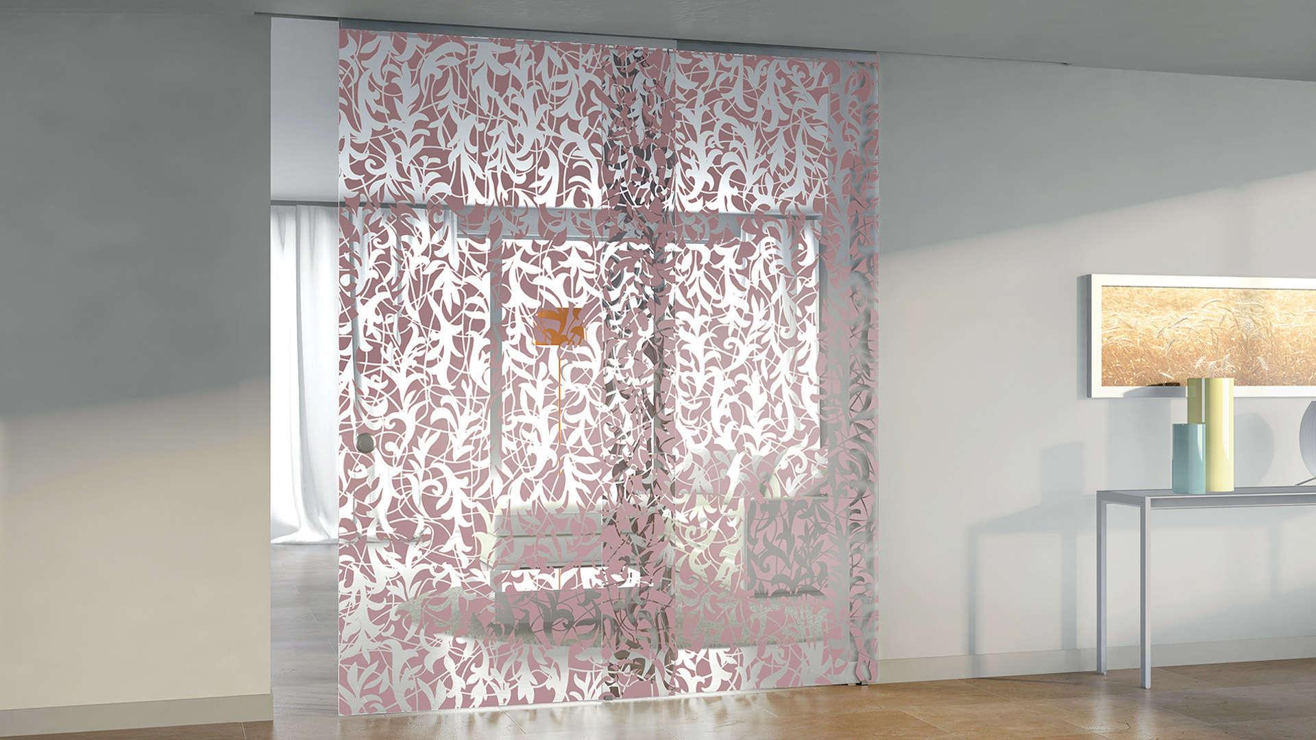 Porta in vetro Casali Alpha Solution Florita
