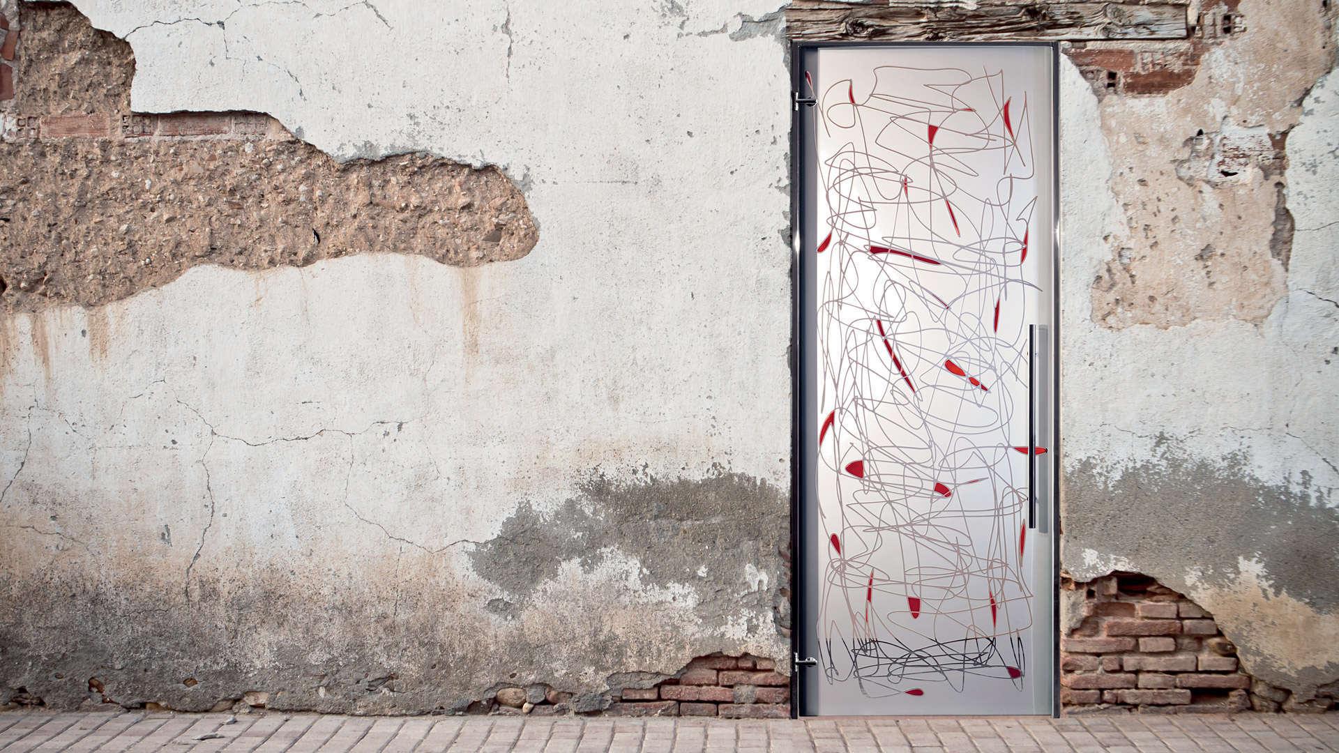 Porta in vetro Casali Battente Archea