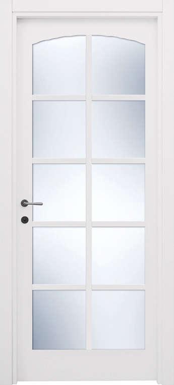 porca a vetri bianca